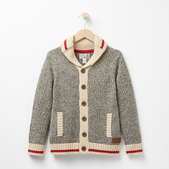 Roots - Boys Roots Cabin Shawl Cardigan