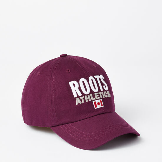 Roots-Men Hats-Franklin Roots Baseball Cap-Pickled Beet-A