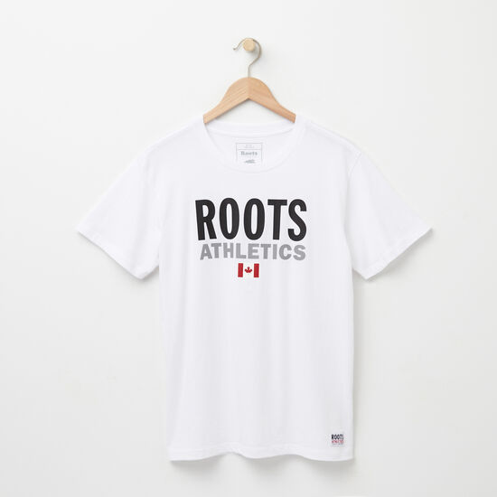 Roots-Sale Women's-Womens Roots Re-issue T-shirt-White-A