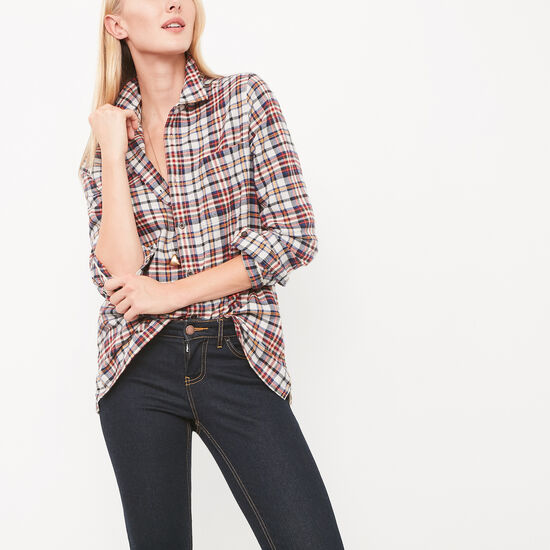 Varley Plaid Shirt
