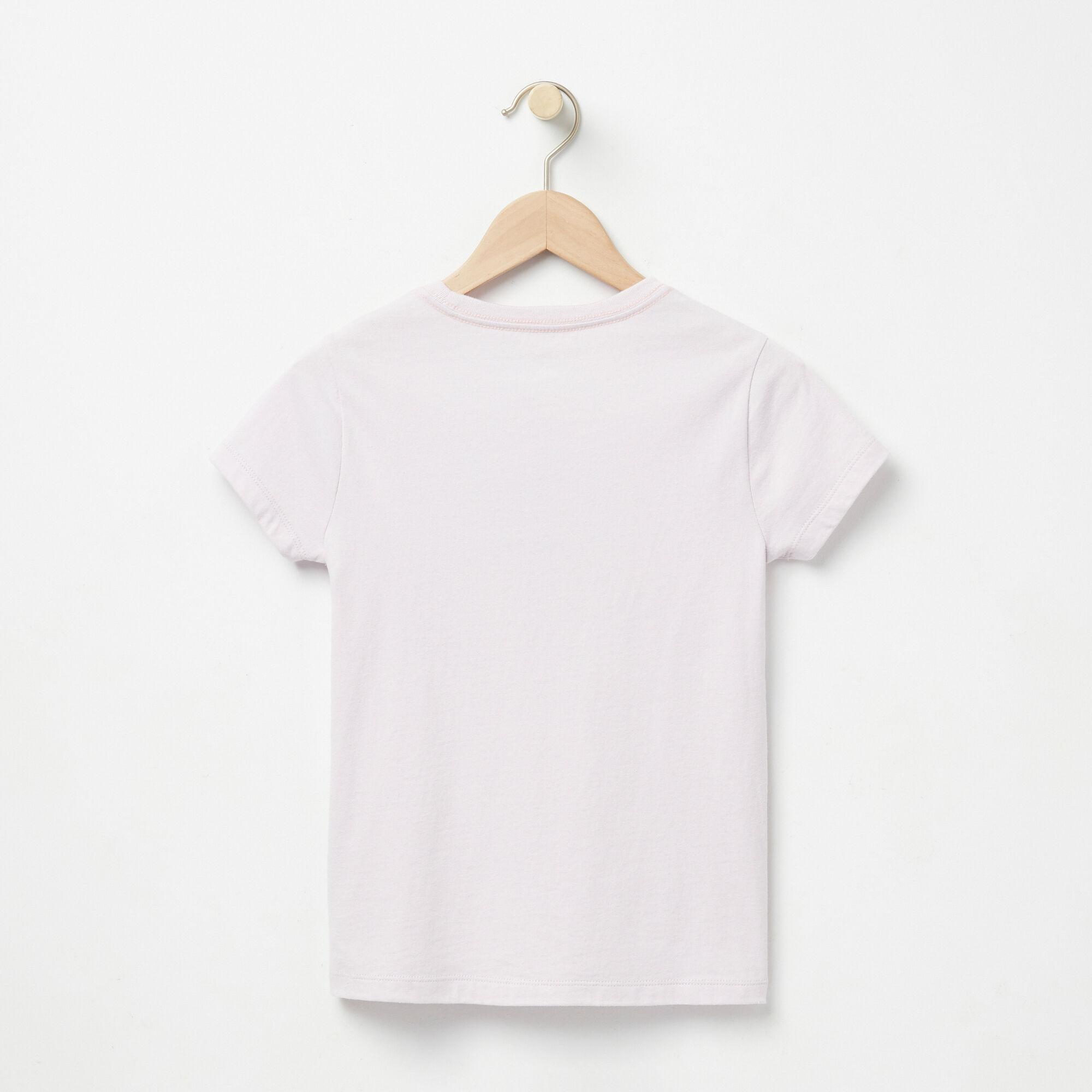 Filles T-shirt Côtier Feuille D'érable
