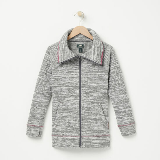 Girls Snowfall Zip Jacket