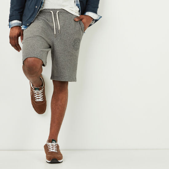 Roots-Men Shorts-True North Shorts-Steel Grey Pepper-A