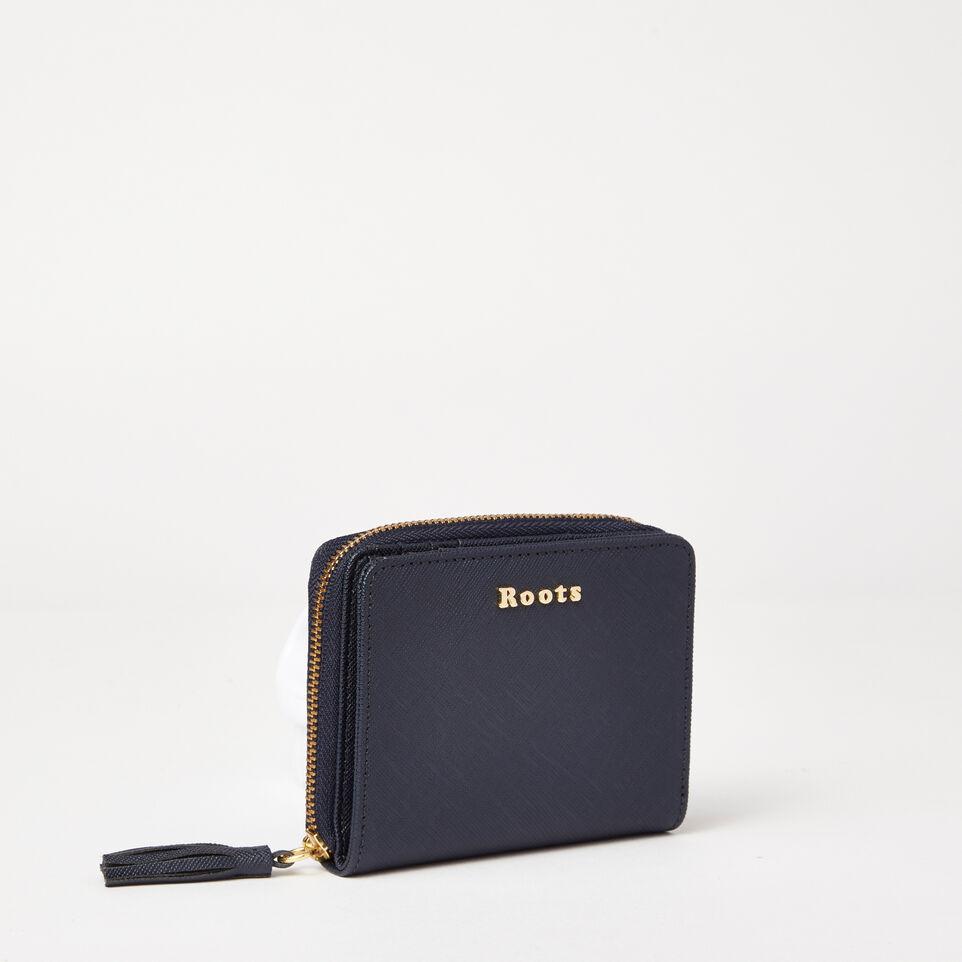 Small Tassel Wallet Saffiano