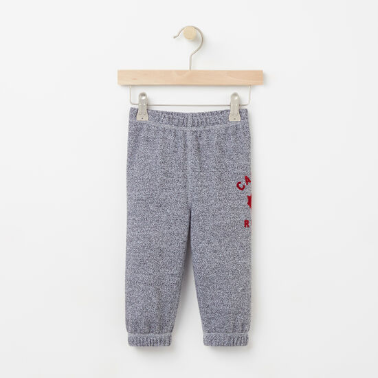 Roots-Kids Features-Baby Canada Pepper Original Sweatpant-Salt & Pepper-A