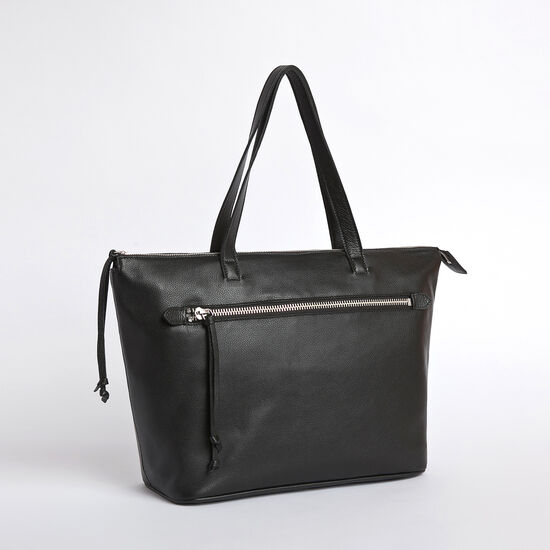 Roots-Women Totes-The Go To Bag Prince-Black-A