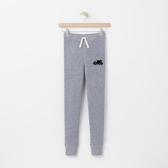 Roots - Girls Pom Pom Beaver Skinny Sweatpant