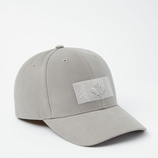 Roots-Men Hats-Modern Flag Baseball Cap-Sterling Grey-A