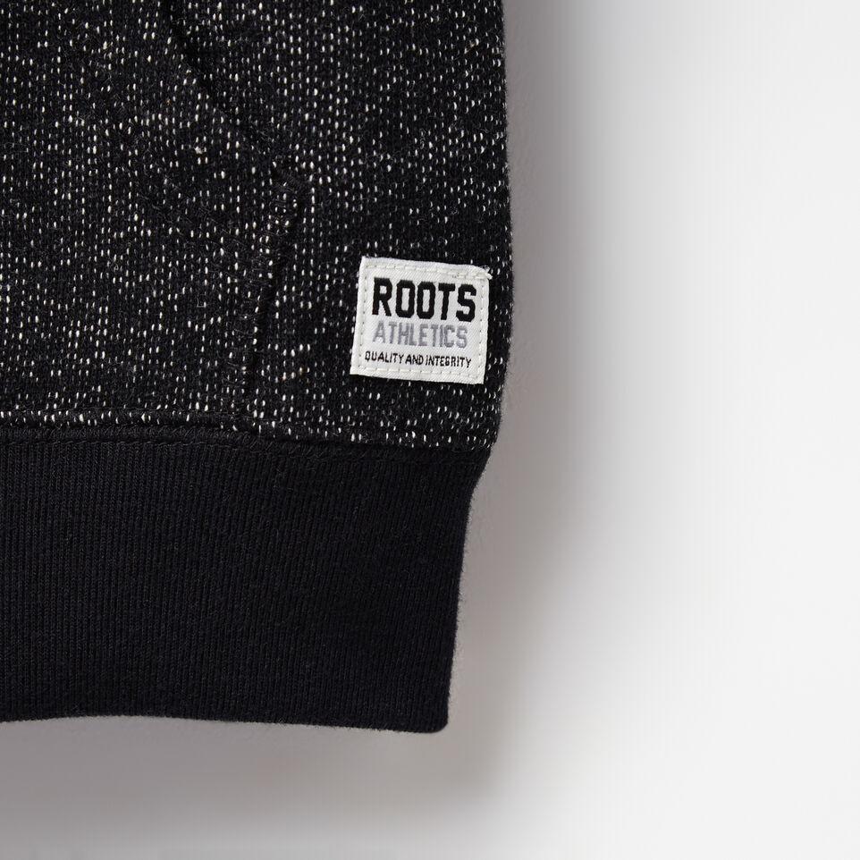 Roots-undefined-Tout-Petits Chandail Capuchon À Glissière Poivre Original-undefined-D