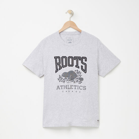 Roots-Men Graphic T-shirts-RBA T-shirt-Snowy Ice Mix-A