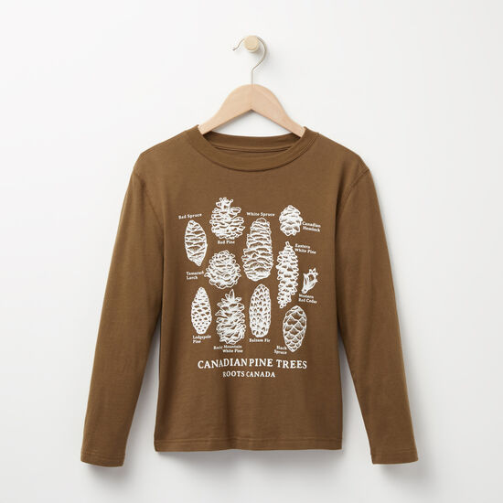 Roots - Boys Pine Cone T-shirt