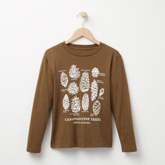 Boys Pine Cone T-shirt