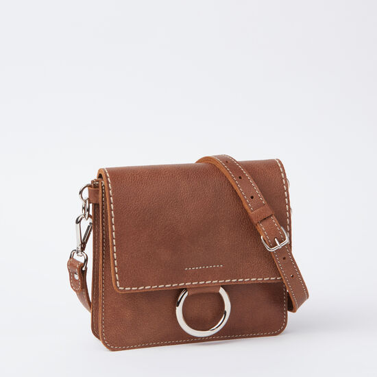 Roots-Women Mini Leather Handbags-Petite Bardo Tribe-Africa-A