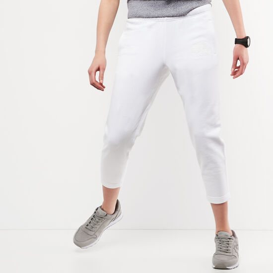 Roots-Women Slim Sweatpants-Original Ankle Sweatpant-White-A