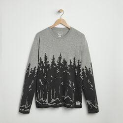 Roots - T-shirt Man Longues Treeline