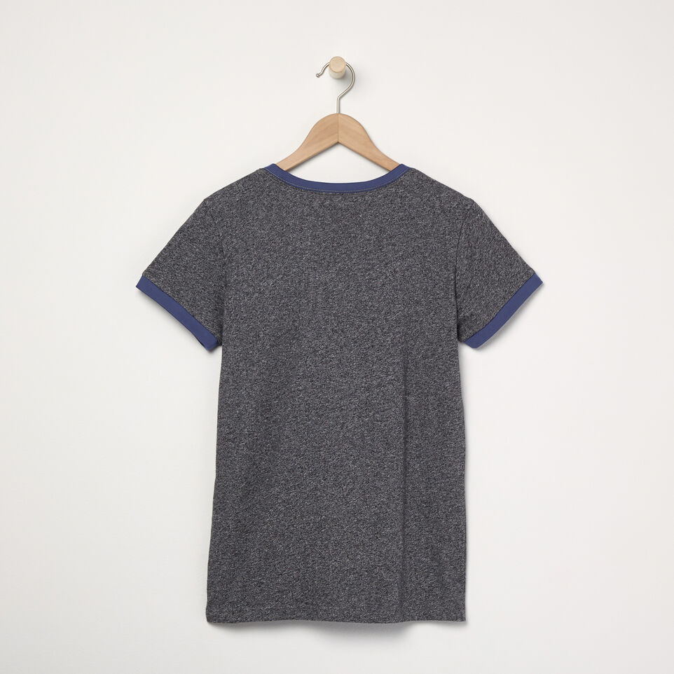 Roots-undefined-T-shirt à col contrastant Blue Jays MC Ballpark pour femmes-undefined-B
