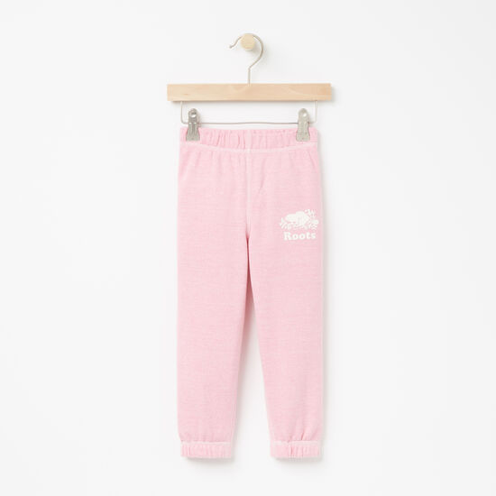 Roots-Kids Toddler Girls-Toddler Colour Pepper Original Slim Sweatpant-Cashmere Rose Pepper-A