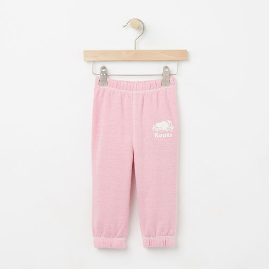 Roots-Kids Bottoms-Baby Colour Pepper Original Sweatpant-Cashmere Rose Pepper-A