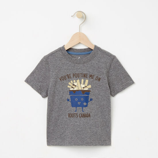 Roots-Kids T-shirts-Toddler Poutine T-shirt-Med Grey Mix-A