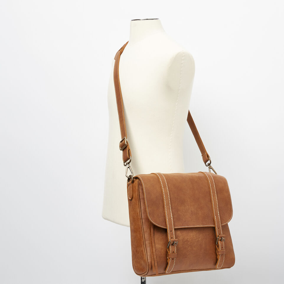 Roots-undefined-Satchel Moderne Cuir Tribe-undefined-B