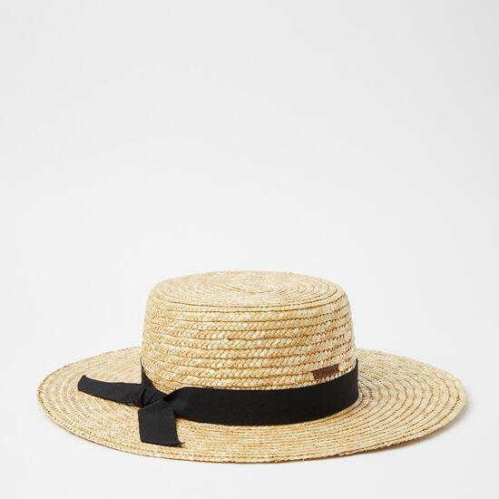 Roots-Women Hats-Arielle Sun Hat-Kelp Beige-A