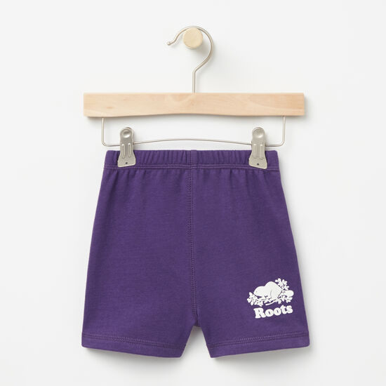Roots-Kids Bottoms-Toddler Original Athletic Shorts-Mulberry Purple-A
