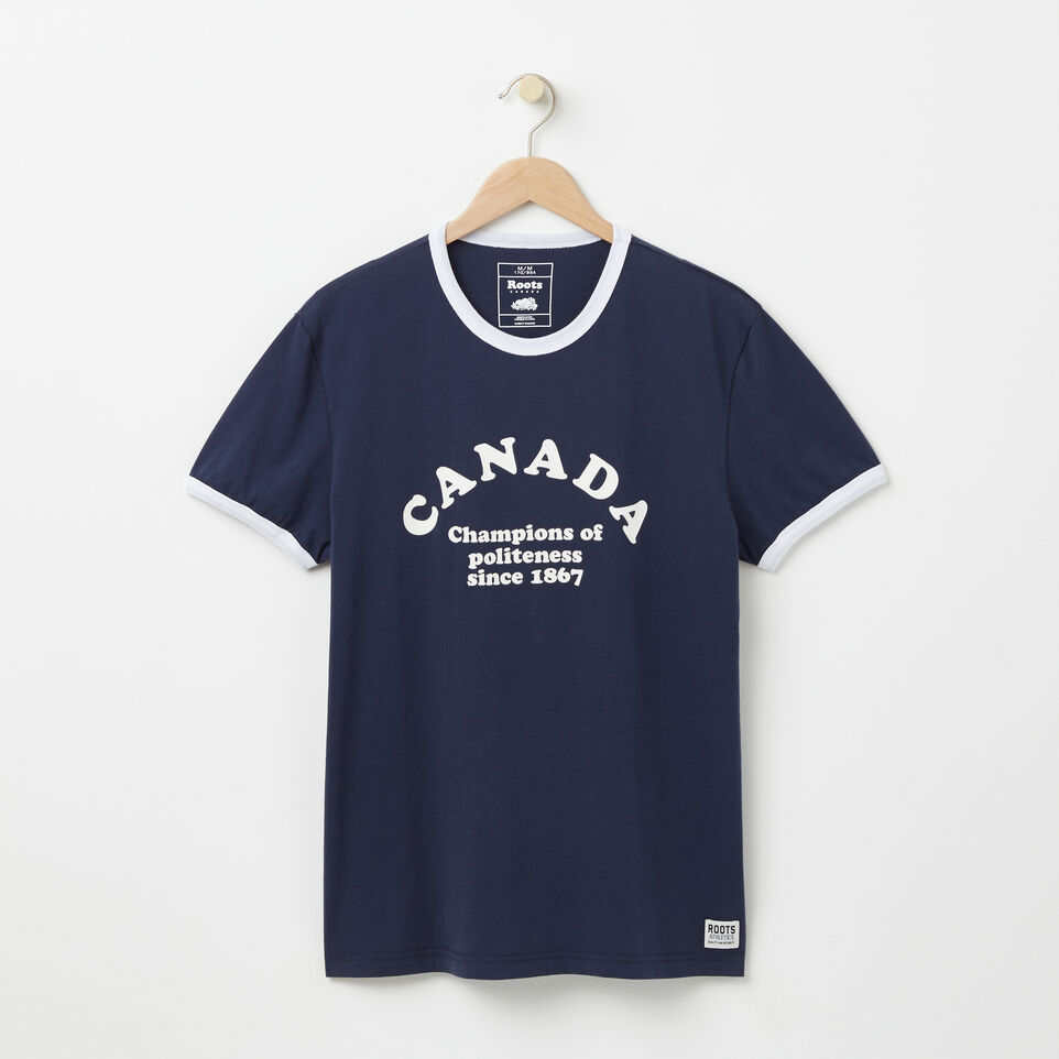 Roots-undefined-T-s Col Contrast Champs Canad-undefined-A