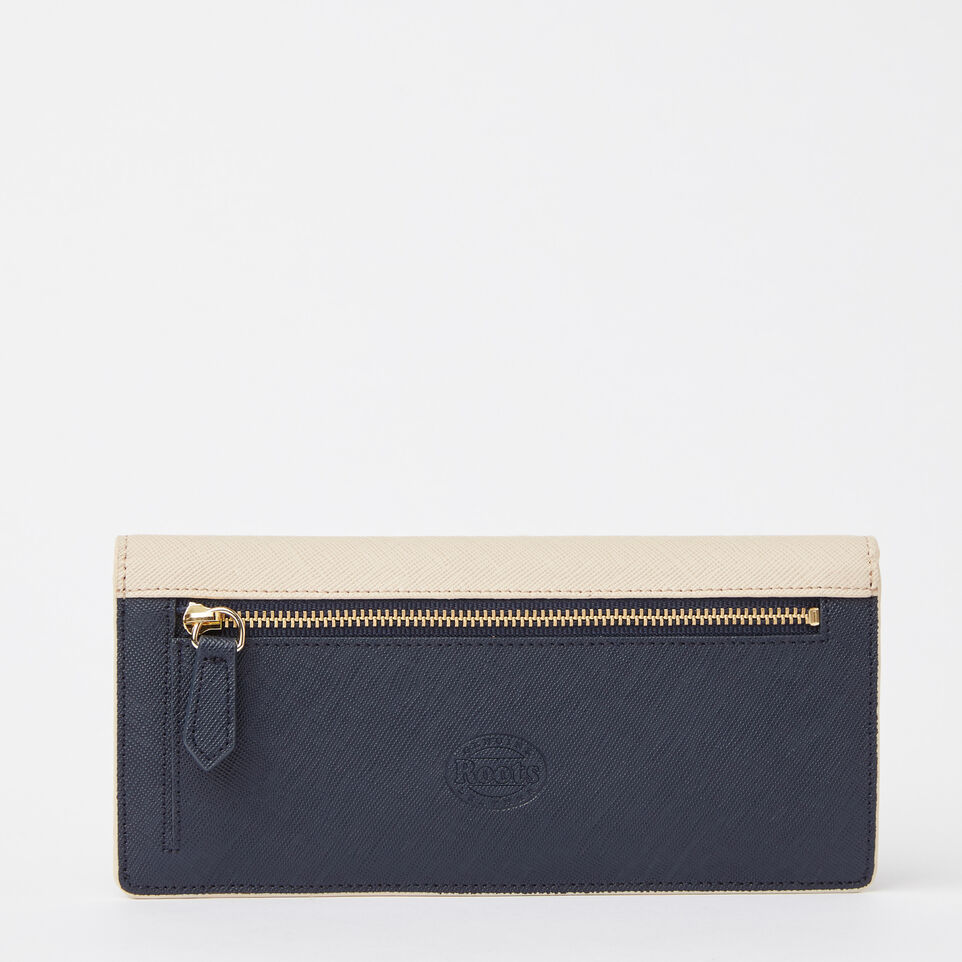 Roots-undefined-Slim Curve Wallet Saffiano-undefined-C