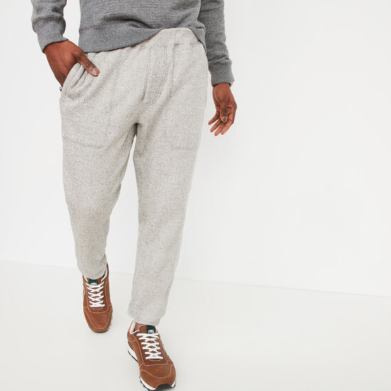 Roots-Men Slim Sweatpants-Drift Sweatpant-White Grey Mix-A