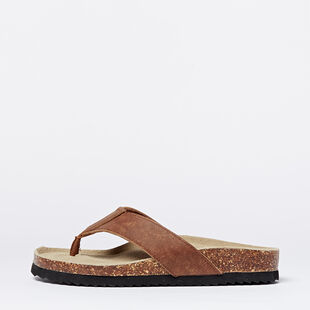 Roots - Mens Natural Roots Thong Sandals