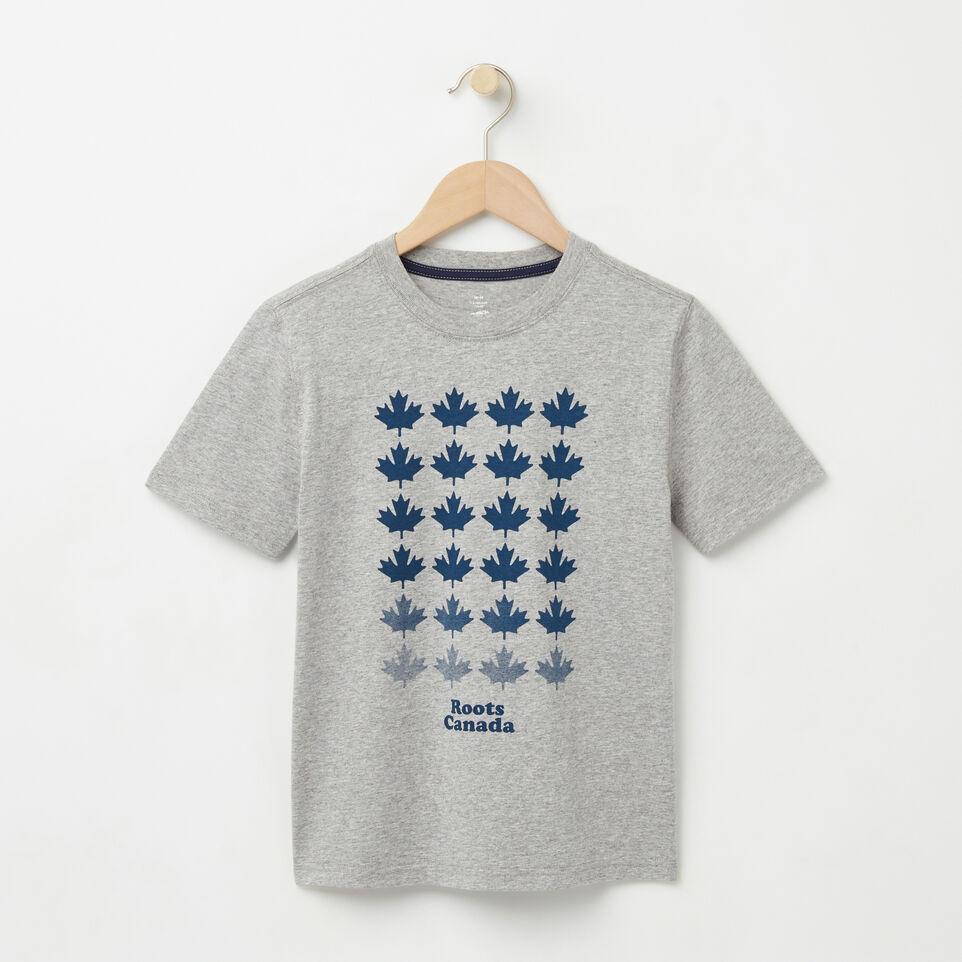 Roots-undefined-Garçons T-shirt Érable Multi-undefined-A