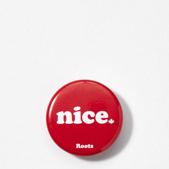 Roots-Leather Nice™-Nice Button English-Sage Red-A