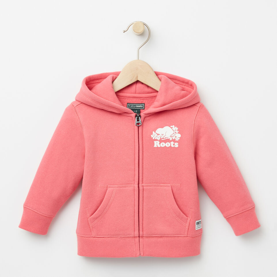 Roots-undefined-Bébés Original Full Zip Hoody-undefined-A