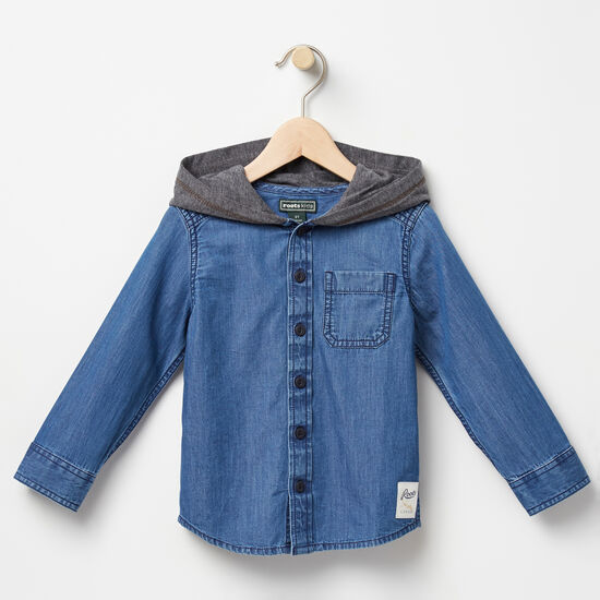 Toddler Rupert Hooded Shirt