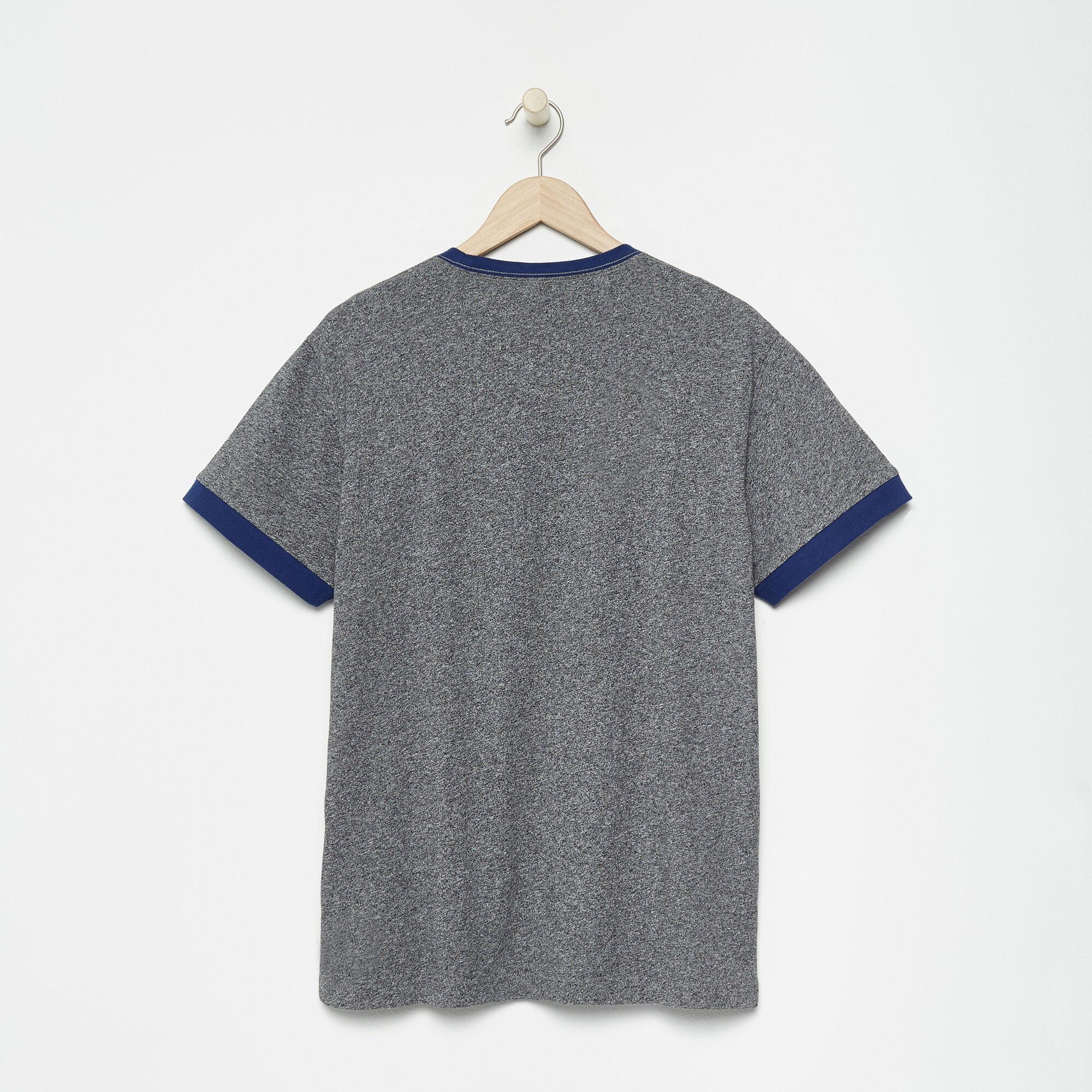 T-shirt à col contrastant Blue JaysMC Ballpark pour hommes