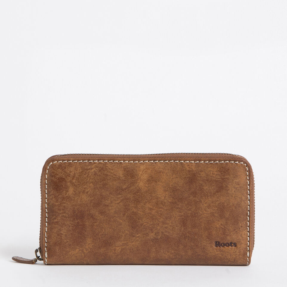 Roots-undefined-Pochette À Gliss. Cuir Tribe-undefined-A