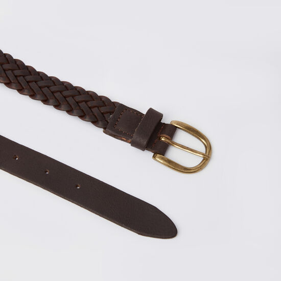 Womens Braided Belt