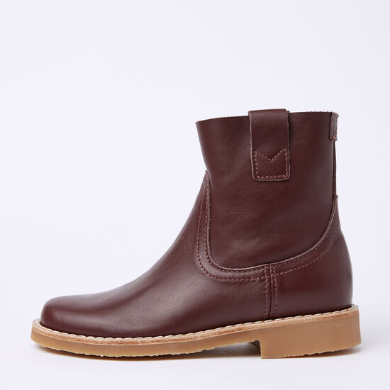 Roots-Shoes Boots-Shorty Boot Bolzano-Garnet-A