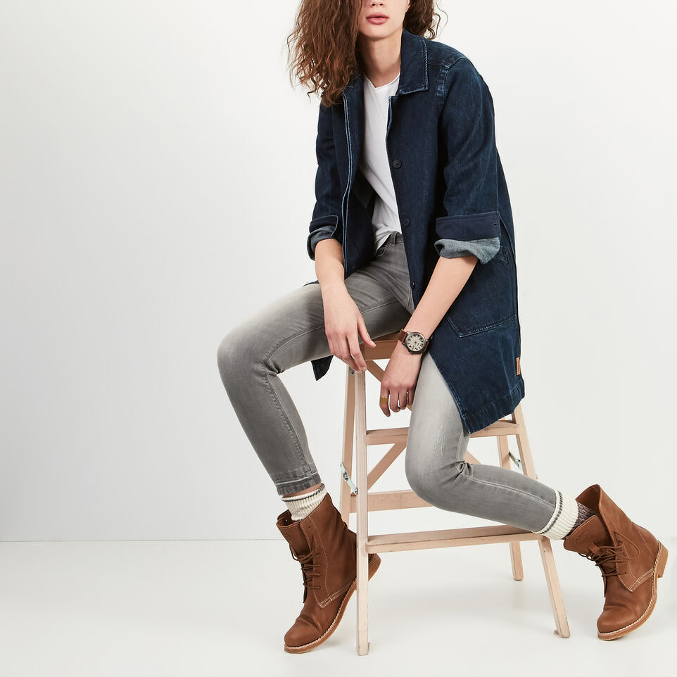 Roots-undefined-Manteau Drafting En Denim-undefined-A