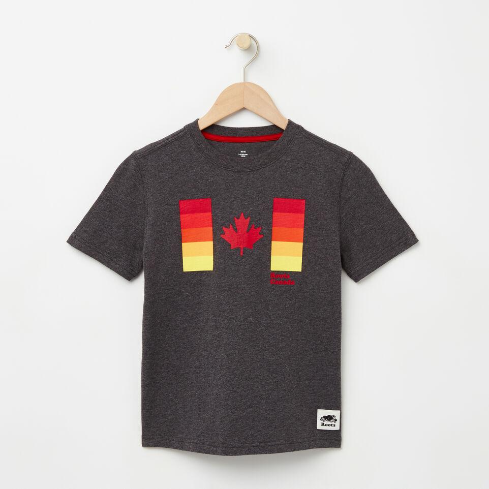 Roots-undefined-Garçons T-s Drapeau Canadien Dégradé-undefined-A