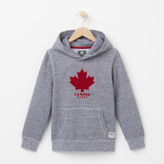 Roots-Kids Roots Salt & Pepper™-Boys Canada Pepper Kanga Hoody-Salt & Pepper-A