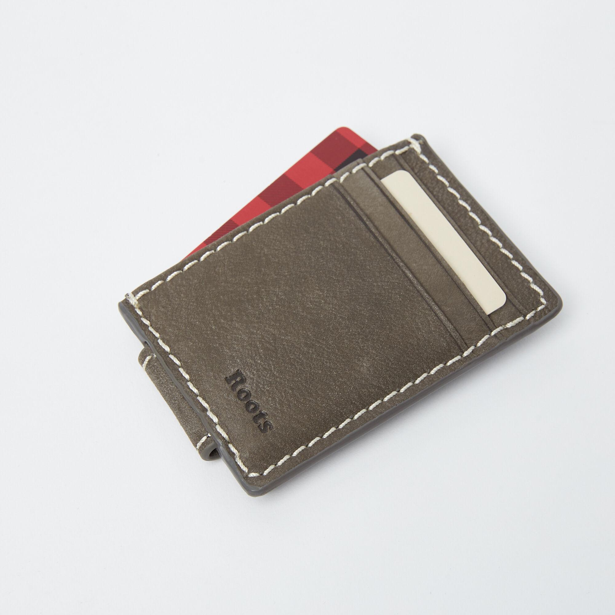 Mens Money Clip Card Holder Tribe