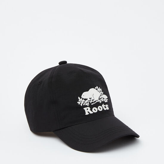 Roots-Kids Accessories-Toddler Cooper Glow Baseball Cap-Black-A