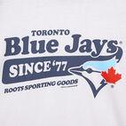 Roots-undefined-T-shirt de baseball Blue JaysMC Ballpark pour hommes-undefined-C