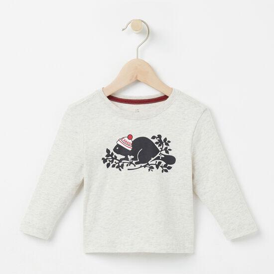 Baby Pom Pom Beaver T-shirt