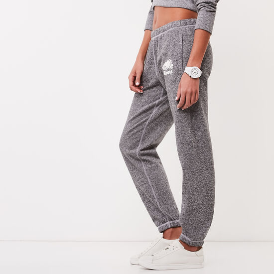 Roots-Women Bottoms-Roots Salt and Pepper Original Sweatpant Short-Salt & Pepper-A