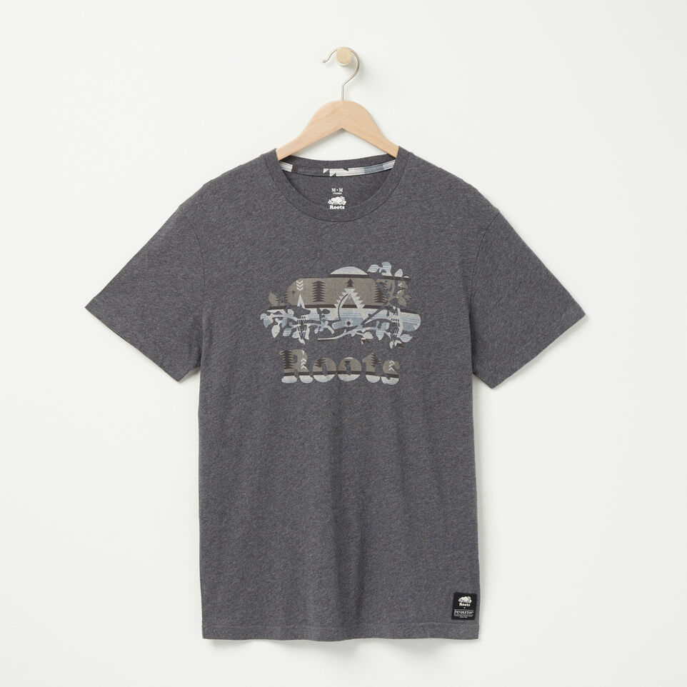 Roots-undefined-Roots X Pendelton T-shirt-undefined-A