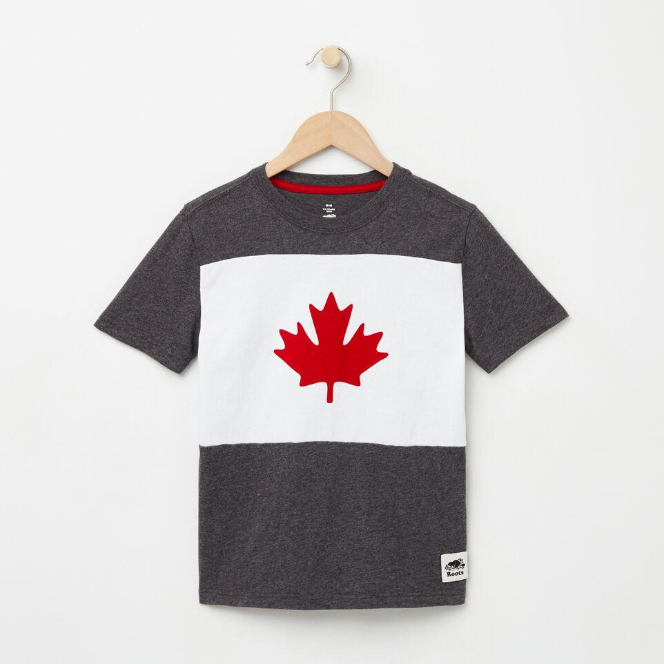 Roots-undefined-Garçons T-shirt Érable Blazon-undefined-A