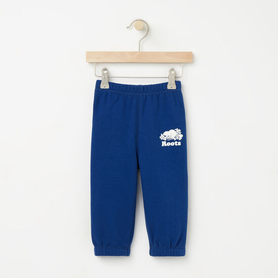 Roots-Kids Bottoms-Baby Original Sweatpant-Anchor Lake Blue-A