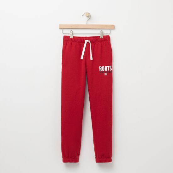 Roots-Kids Roots Re-issue-Boys Roots Re-issue Classic Sweatpant-Scooter Red-A